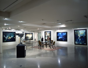 Modern Art Gallery's Show Room
